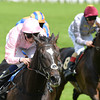 The Fugue, William Buick up, wins the Prince of Wales Stakes, Royal Ascot, Ascot Race Course, England, 6/18/14 photo by Mathea Kelley