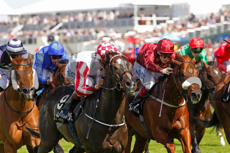 Royal Ascot 17/6/14<br /> The King's Stand Stakes . Sole Power (check cap) wins from Hot Streak (right).<br /> Photo by Trevor Jones, Thoroughbred Photography