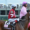 Untapable wins the 2014 Kentucky Oaks.<br /> Courtney V. Bearse Photo