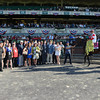 Real Solution wins the 2014 Knob Creek Manhattan Stakes (gr. IT) at Belmont Park.<br /> Coglianese Photos