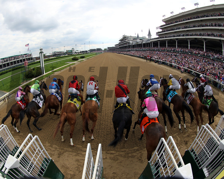Kentucky Oaks Starting Gate Remote Churchill Downs Chad B. Harmon