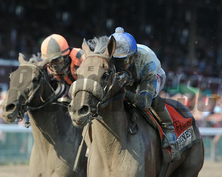 Sweet Reason wins the 2014 Test Stakes at Saratoga.<br /> Coglianese Photos/Adam Mooshian