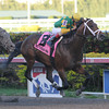Palace Malice wins the 2014 Gulfstream Park Handicap.<br /> Coglianese Photos