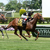 Undrafted wins the 2014 Jaipur Stakes at Belmont Park. <br /> Coglianese Photos/Lauren King