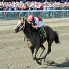 Coup de Grace wins the 2014 Amsterdam at Saratoga.<br /> Coglianese Photos/Chelsea Durand