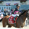 Kid Cruz wins the 2014 Dwyer Stakes at Belmont Park.<br /> Coglianese Photos/Adam Mooshian