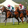 Royal Ascot 17/6/14<br /> The St. James's Stakes<br /> Kingman wins with style from Night of Thunder (right)<br /> Photo by Trevor Jones, Thoroughbred Photography