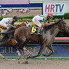 Little Alexis wins the 2014 Cash Run Stakes at Gulfstream Park.<br /> Coglianese Photos/Lauren King