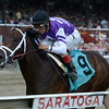 Competitive Edge Maiden Win at Saratoga, July 26, 2014.<br /> Coglianese Photos