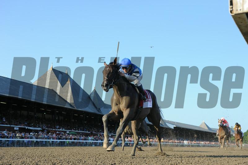 I Spent It wins the Saratoga Special 8/10/2014.<br /> Coglianese Photos
