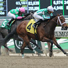 Favorite Tale wins the 2014 Gold Fever Stakes.<br /> Coglianese Photos