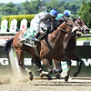 Sweet Reason wins the 2014 TVG Acorn Stakes.<br /> Coglianese Photos/Courtney Heeney