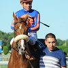 Minorette wins the 2014 Belmont Oaks.<br /> Coglianese Photos/Susie Raisher