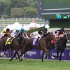 Long On Value, with Rosie Napravnik aboard, wins the Twilight Derby (G. II) at Santa Anita on October 31, 2014.