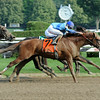 V. E. Day wins the 2014 Curlin Stakes at Saratoga.<br /> Coglianese Photos