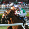 Seek Again wins the 2014 Fourstardave at Saratoga.<br /> Coglianese Photos