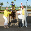 Wildcat Red wins the 2014 Quality Road Stakes at Gulfstream Park.<br /> Coglianese Photos/Leslie Martin