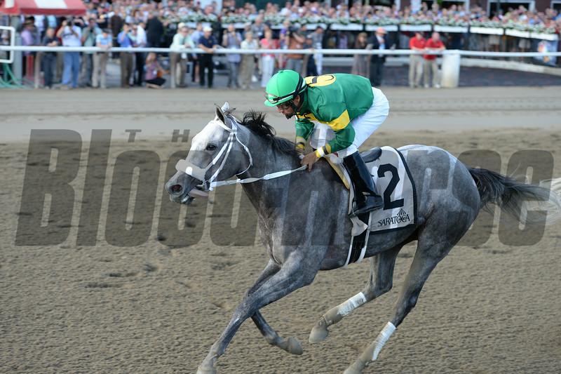 Stonetastic wins the 2014 Prioress at Saratoga. <br /> Coglianese Photos