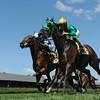 King Kreesa wins the West Point Stakes at Saratoga 8/24/2014.<br /> Coglianese Photos/Adam Mooshian
