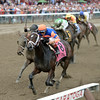 Stopchargingmaria wins the 2014 Alabama at Saratoga.<br /> Coglianese Photos/Chelsea Durand