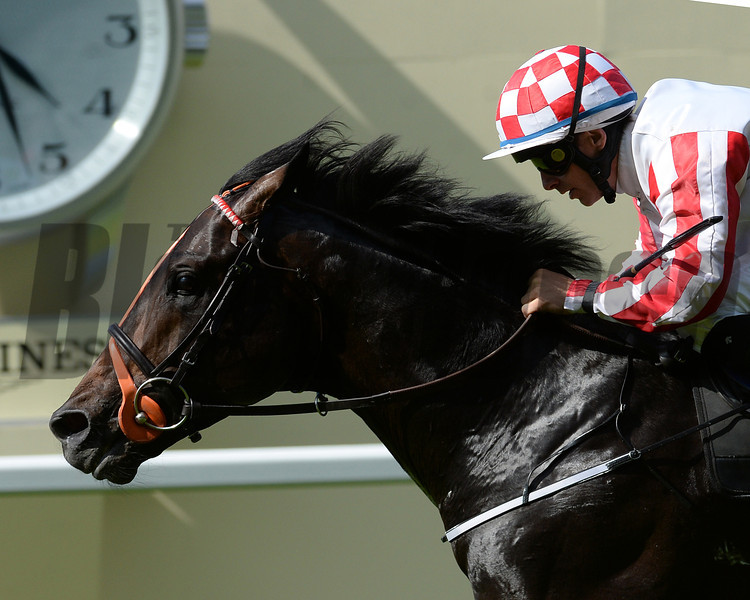Slade Power, WM Lordan up, wins the Diamond Jubilee Stakes, Royal Ascot, Ascot Race Course, England, 6/21/14 photo by Mathea Kelley,