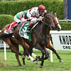 Crown Queen wins the 2014 Lake Placid at Saratoga.<br /> Coglianese Photos