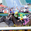 Palace Malice wins the 2014 Gulfstream Park Handicap.<br /> Coglianese Photos/Lauren King