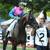 Itsmyluckyday wins the 2014 Woodward at Saratoga.<br /> Coglianese Photos