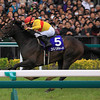Copano Richard Sprints to Victory in Japan's Takamatsunomiya Kinen.<br /> Naoji Inada Photo