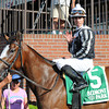 Hot Stones wins the 2014  Bed o' Roses at Belmont Park. <br /> Coglianese Photos