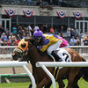 Mah Jong Maddnes wins the 2014 Mount Vernon Stakes.<br /> Coglianese Photos/Adam Mooshian