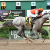 8/2/2014  -  Alamo Heights with Richard Eramia aboard captures the 31 running of the Super Derby Prelude at Louisiana Downs.  Hodges Photography / Lou Hodges, Jr.