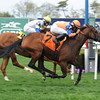 Waterway Run wins the 2014 Beaugay Stakes.<br /> Coglianese Photos