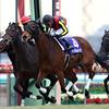Gentildonna wins the 2014 Arima Kinen.<br /> Masakazu Takahashi Photo