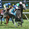 Filimbi wins the 2014 De La Rose Stakes at Saratoga.<br /> Coglianese Photos