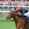 Abaco wins the 2014 Ballston Spa at Saratoga.<br /> Coglianese Photos/Adam Mooshian