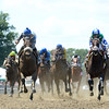 Sweet Reason wins the 2014 TVG Acorn Stakes at Belmont Park.<br /> Coglianese Photos