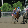 Moreno wins the 2014 Whitney Handicap at Saratoga.<br /> Coglianese Photos/Eddie Davis