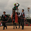 Just A Way wins the Yasuda Kinen in Japan.<br /> Naoji Inada Photo