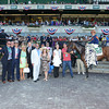Coffee Clique wins the 2014 Longines Just a Game Stakes at Belmont Park.<br /> Coglianese Photos
