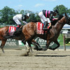 Kid Cruz wins the 2014 Dwyer Stakes at Belmont Park.<br /> Coglianese Photos