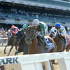 Zivo wins the 2014 Suburban at Belmont Park.<br /> Coglianese Photos