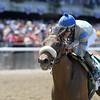 Sweet Reason wins the 2014 TVG Acorn Stakes at Belmont Park.<br /> Coglianese Photos/Adam Mooshian