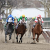 Leave the Light On wins the 2014 Remsen at Aqueduct.<br /> Coglianese Photos/Joe Labozzetta