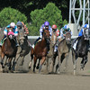 Sweet Reason wins the 2014 Test Stakes at Saratoga.<br /> Coglianese Photos