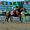 Caption:Palace Malice with John Velazquez wins the Metropolitan<br /> Belmont Stakes day on June 7, 2014, at Belmont Park in Elmont, N.Y.<br /> 8-JustAGame1 image<br /> Photo by Anne M. Eberhardt
