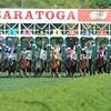 Wise Dan wins the 2014 Bernard Baruch at Saratoga.<br /> Coglianese Photos/Adam Mooshian