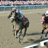 Sweet Reason wins the 2014 Test Stakes at Saratoga.<br /> Coglianese Photos/Chelsea Durand