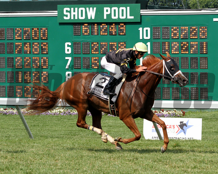 Starstruck Kerwin Clark Matchmaker Stakes Monmouth Park Chad B. Harmon