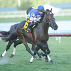 Summer Front wins the 2014 Ft. Lauderdale Stakes.<br /> Coglianese Photos/Lauren King
